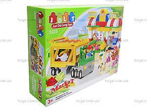 Конструктор «Магазин с грузовиком», 5225, игрушки