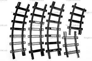 Конструктор «Железная дорога», 301 элемент, 10618, toys