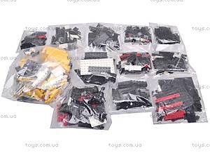 Конструктор «Железная дорога», 800 деталей, 14601, игрушки