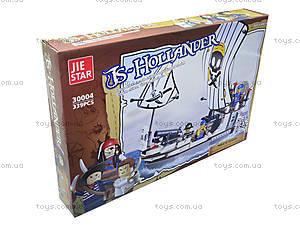 Конструктор для детей «Корабль пиратов», 339 деталей, 30004, купить