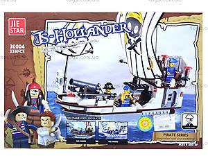 Конструктор для детей «Корабль пиратов», 339 деталей, 30004, фото