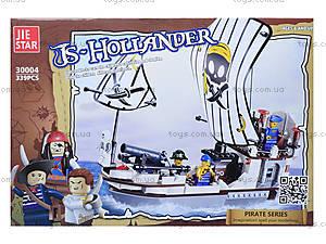 Конструктор для детей «Корабль пиратов», 339 деталей, 30004, отзывы
