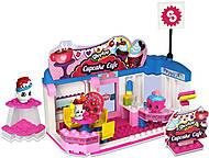 Конструктор «Кафе» Shopkins S1, 4 шопкинса, 37337, игрушки
