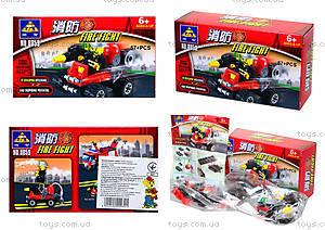 Конструктор Kazi «Пожарная техника», 57 деталей, 8059