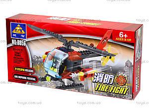 Конструктор Kazi «Пожарный вертолет», 83 детали, 8056, отзывы