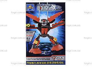 Конструктор Kazi «Робот», 6051, цена