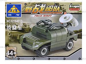 Конструктор Kazi «Военная машина», 44 деталей, KY84013, купить