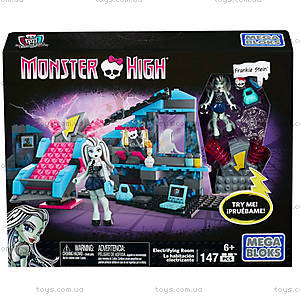 Конструктор Monster High Mega Bloks «Комната Фрэнки», CNF81, цена