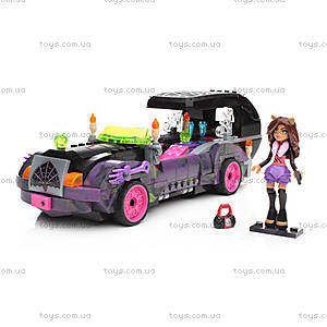Конструктор Mega Bloks «Киномобиль Monster High», CNF82, фото