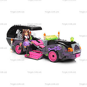 Конструктор Mega Bloks «Киномобиль Monster High», CNF82, цена