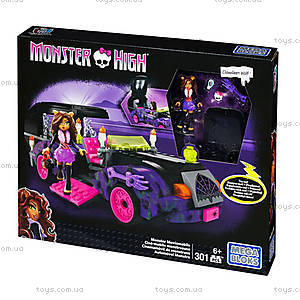 Конструктор Mega Bloks «Киномобиль Monster High», CNF82