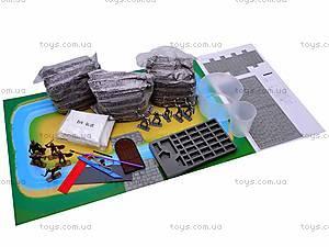 Конструктор-кирпичики «Средневековый замок», 05935, отзывы