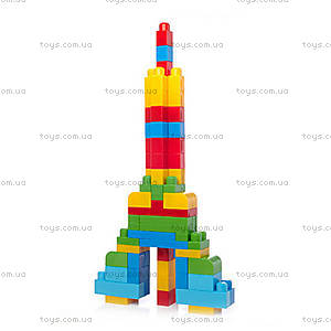 Конструктор Mega Bloks классический, 60 деталей, DCH55, фото