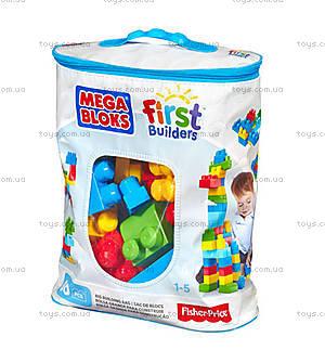 Конструктор Mega Bloks классический, 60 деталей, DCH55