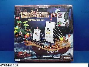 Конструктор «Корабль с пиратами», 50833А