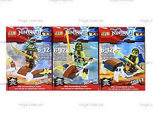 Детский конструктор, поставляется в коробке, 3D35901-35906 H, игрушки