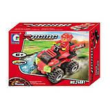 Конструктор «Красный квадроцикл», 72 детали, 24081