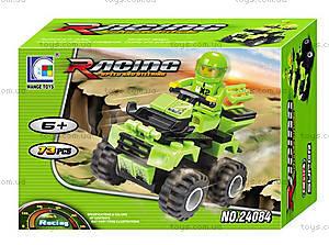Конструктор «Квадроцикл», зеленый, 24084