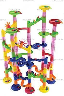 Конструктор-лабиринт с шариками Marbureka, 105 частей, 25308, купить