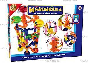 Конструктор-лабиринт с шариками Marbureka, 74 частей, 25315
