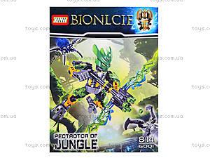 Детский конструктор LELE «Воин джунглей», 6001, отзывы