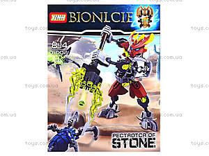 Детский конструктор LELE «Каменный воин», 6002, отзывы
