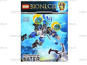 Детский конструктор LELE «Воин воды», 6003, отзывы