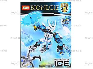 Детский конструктор LELE «Ледяной воин», 6005, отзывы
