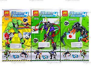 Детский конструктор Hero Factory, 4 вида, 6282-836227-28, купить