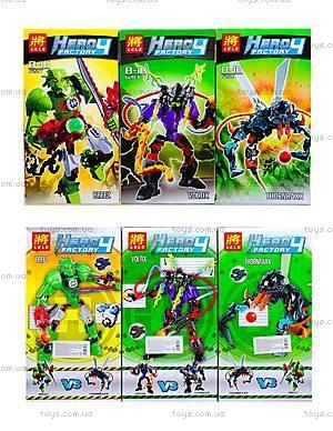 Детский конструктор Hero Factory, 4 вида, 6282-836227-28