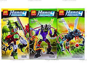 Детский конструктор Hero Factory, 4 вида, 6282-836227-28, отзывы