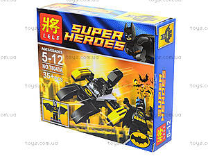 Детский конструктор Super Heroes, 4 вида, 78040, купить