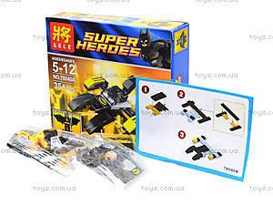 Детский конструктор Super Heroes, 4 вида, 78040, фото