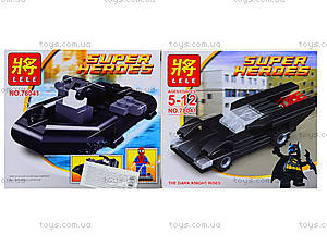 Конструктор детский Super Heroes, 78041, отзывы