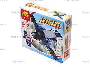 Конструктор детский Super Heroes, 78041, игрушки