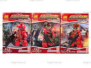 Детский конструктор Red Men, 79017, отзывы