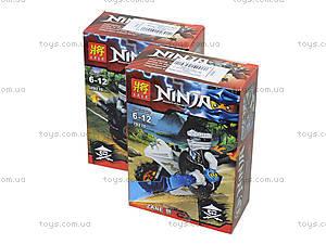 Детский конструктор LELE «Ninja», 79270, детские игрушки