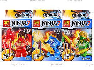 Конструктор детский «Ninja 7», 78022, отзывы