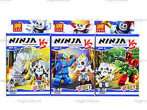 Конструктор детский «Ниндзя 2 в 1», 78024, цена
