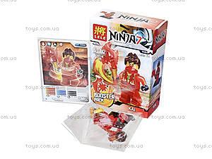 Конструктор для детей «Ниндзя с оружием», 78028, фото