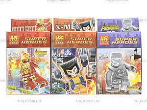 Конструктор LELE «Супергерои», 78000, купить