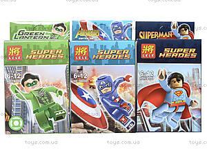 Конструктор LELE «Супергерои», 78000, отзывы