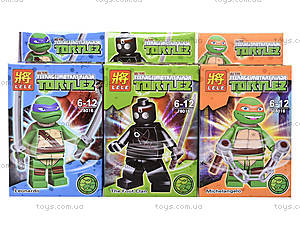 Конструктор для детей Turtles, 78016