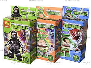 Конструктор для детей Turtles, 78016, отзывы