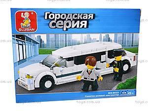 Конструктор «Лимузин», 136 элементов, M38-B0323, цена