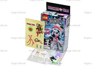 Детский конструктор Monster High, 8 видов, М1010-18, купить