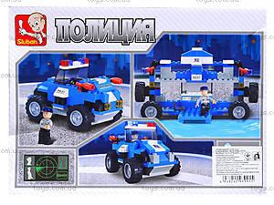 Конструктор детский «Полиция», 121 деталей, M38-B0183B0185, отзывы