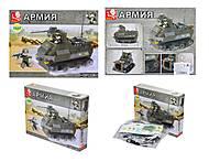 Детский конструктор «Вооруженные силы», 186 деталей, M38-B0281, купить