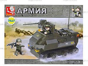 Детский конструктор «Вооруженные силы», 186 деталей, M38-B0281, цена