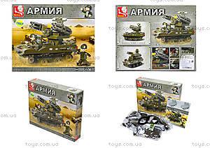 Конструктор детский «Армия», 207 деталей, M38-B0283